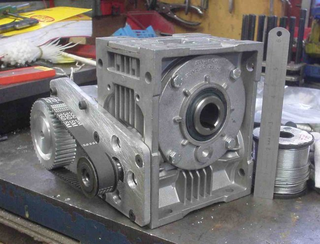 dividing head plans. how about starting off with an the shelf electric motor gearbox such as this one. dividing head plans