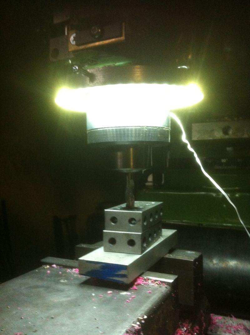Led Work Lights For Milling Machine Model Engineer
